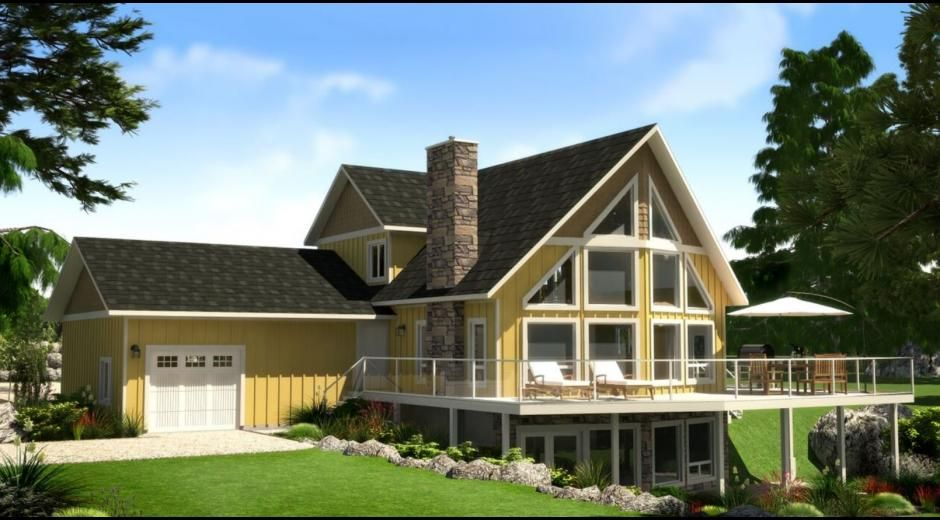 Sylvan Lake Estate Winton Homes With Images Cabins And