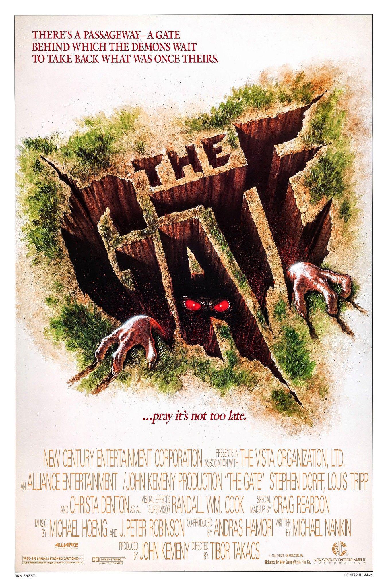 The Gate (1987, Canada / USA) nel 2020