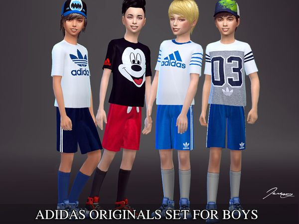 adidas kids abbigliamento