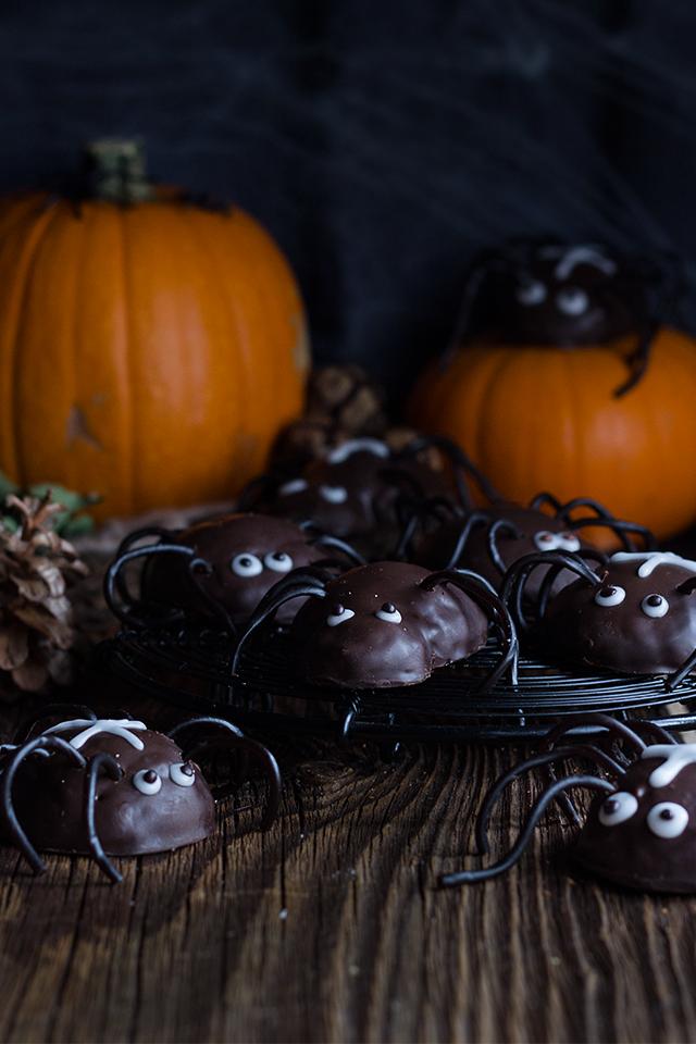 Süßes ohne Saures HalloweenSpinnen Halloween
