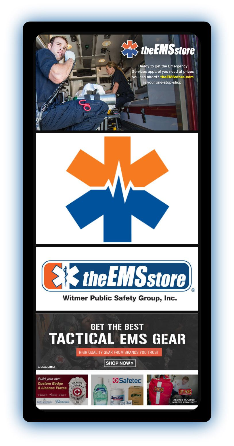 theEMSstore delivers medical equipment and supplies to EMS