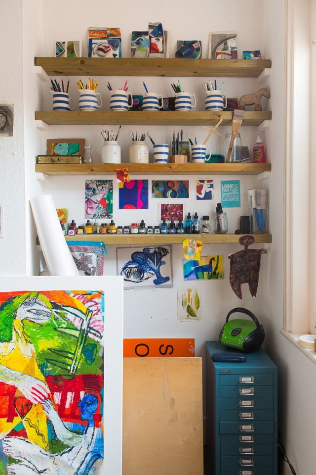 Where We Create: A Look Inside Real Life Craft Rooms & Art Studios | Apartment Therapy