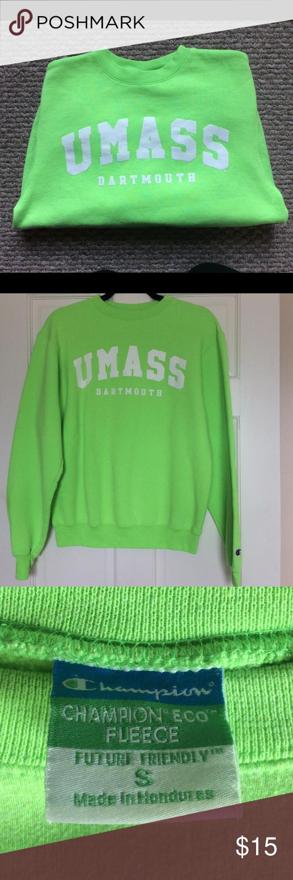 Umass Dartmouth Champion Sweatshirt Champion Sweatshirt Sweatshirts Champion Tops [ 1740 x 580 Pixel ]