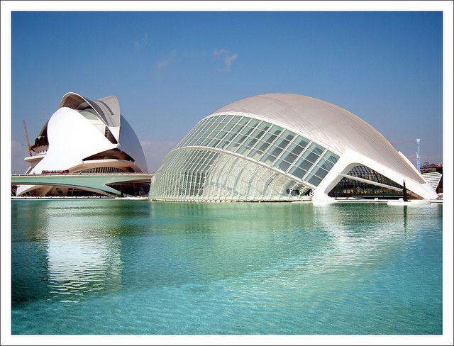 Museo De Artes Y Ciencias De Valencia Valencia Opera House Spain