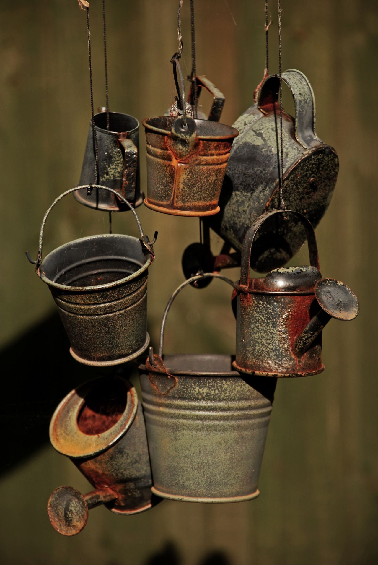 collection of rusty