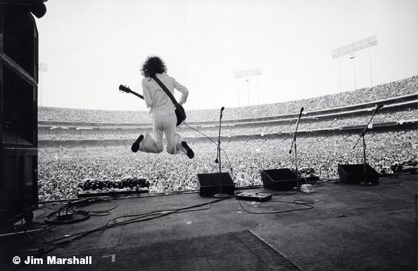 Jim Marshall Peter Frampton Oakland Coliseum C 1970 With