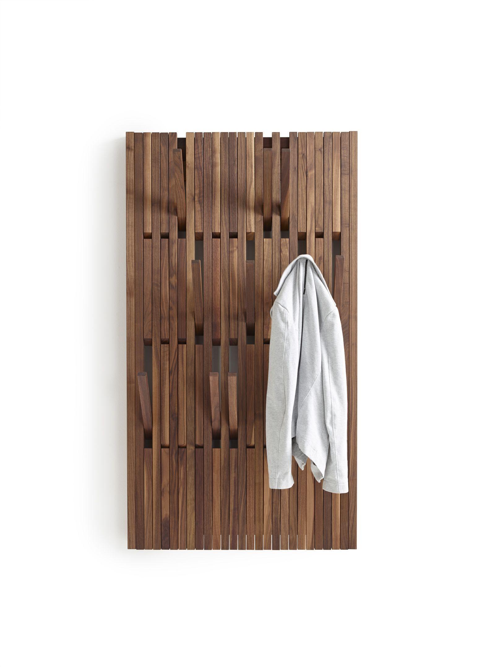 Per Use Piano Walnut Large Garderobe Garderoben Eingangsbereich