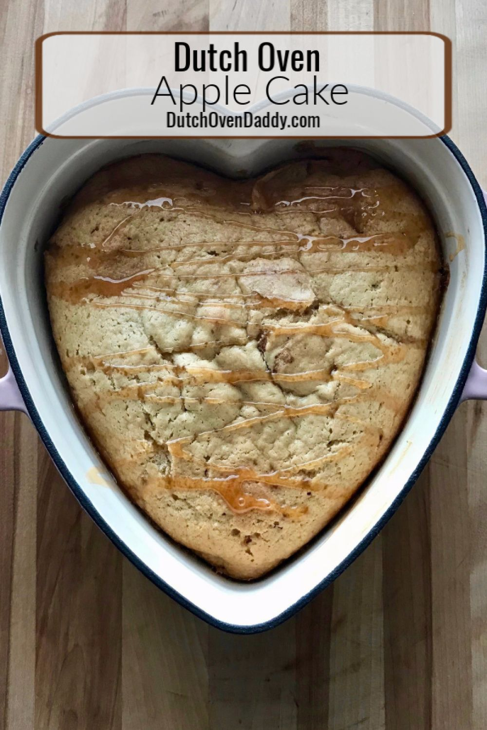 Dutch Oven Apple Cake   Recipe (With images)   Dutch oven ...