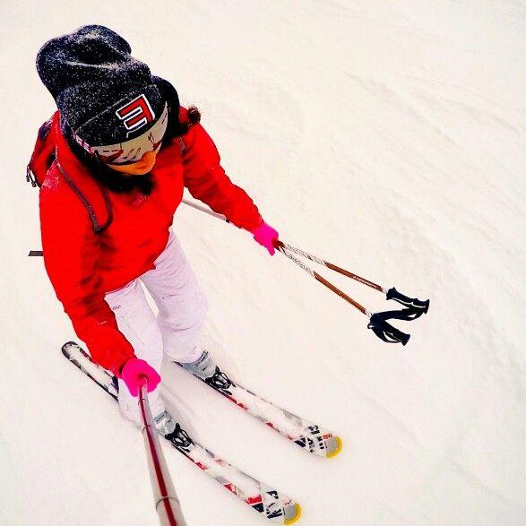 Skiing ski me snow slovenia eminem gopro