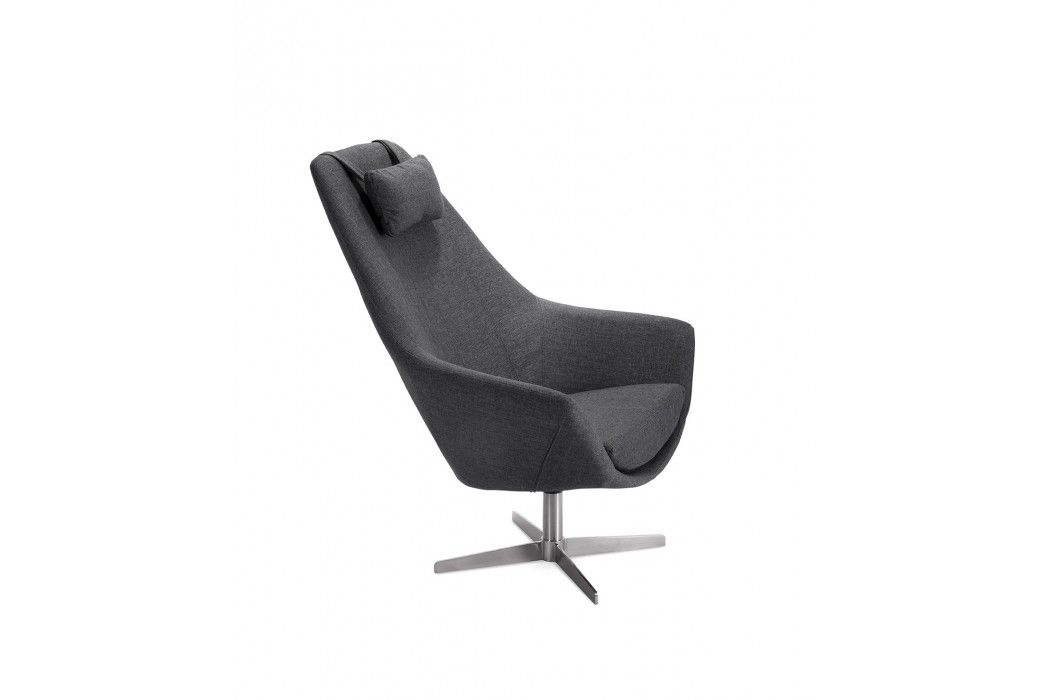Superb Lounge Chair Grey Fabric Kendra Modern Furniture Stores Onthecornerstone Fun Painted Chair Ideas Images Onthecornerstoneorg