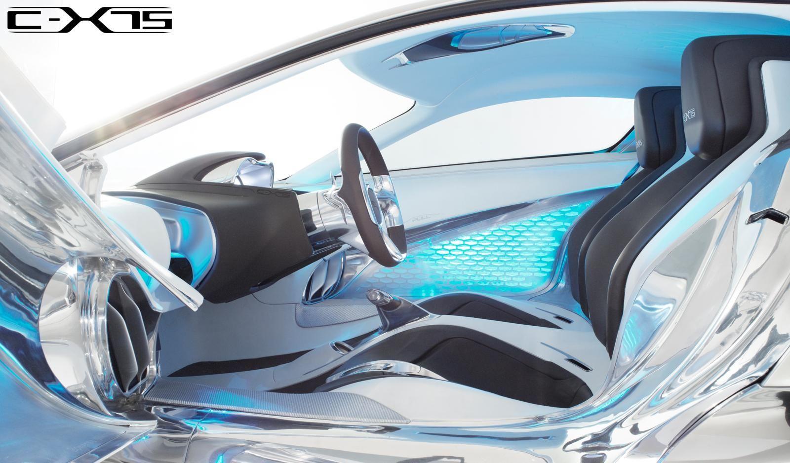 Beau Cars · Oooo Shiny.. Jaguar CX75 Interior.