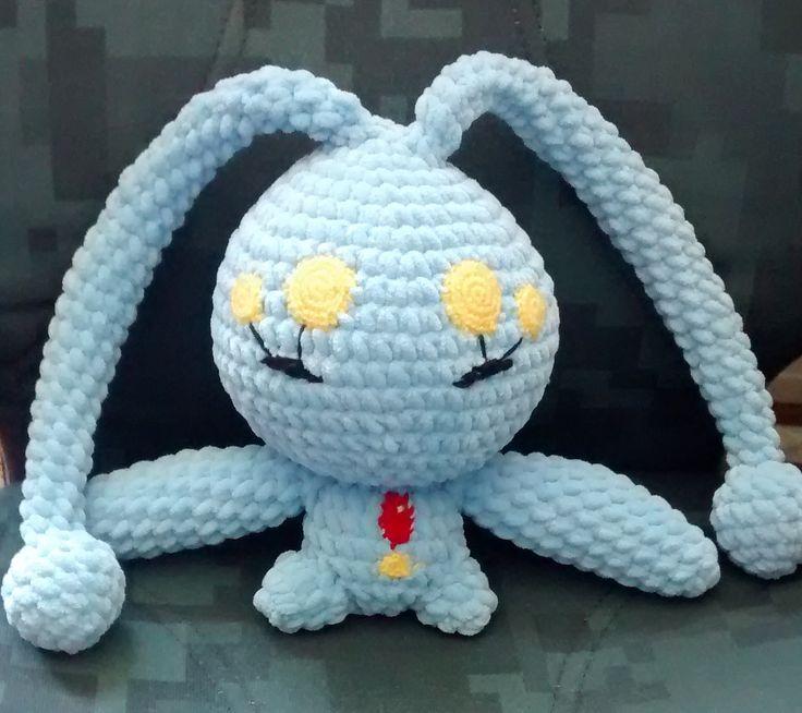 Manaphy Pokmon Character Free Amigurumi Pattern Here Http
