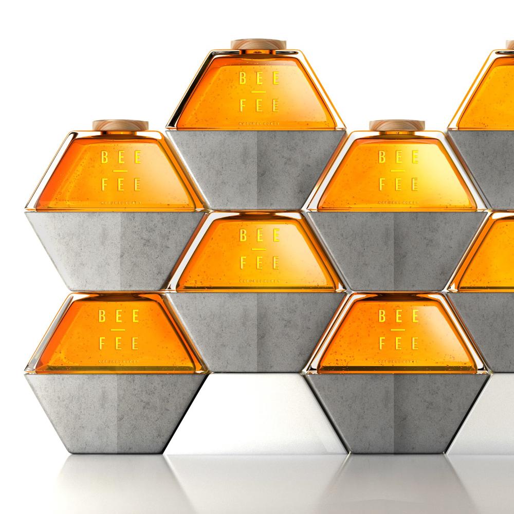 Bee Fee Creative Packaging Design Perfume Design Perfume Packaging
