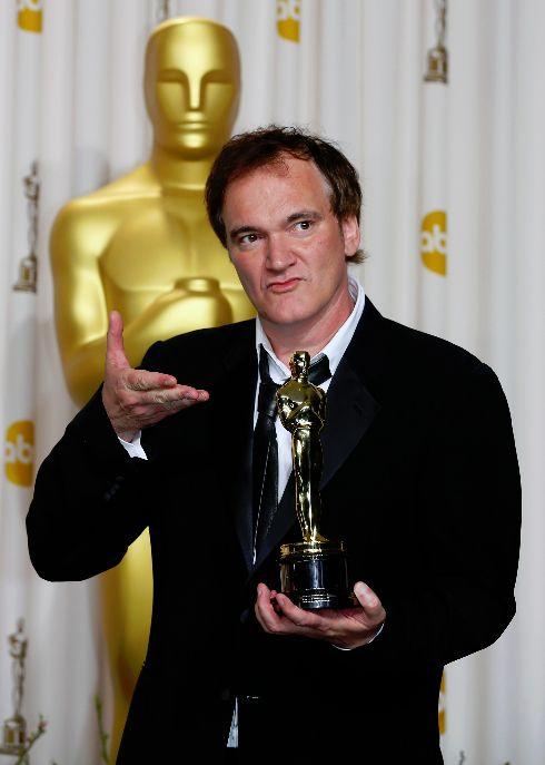 Quentin Tarantino è stato premiato per la miglior sceneggiatura originale (di Django Unchained)