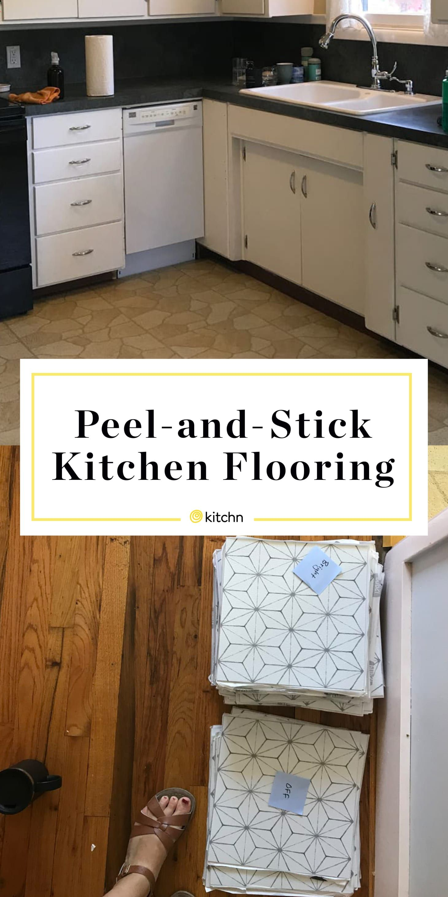 - Before & After: I Made Over My Kitchen With Peel-and-Stick Tiles