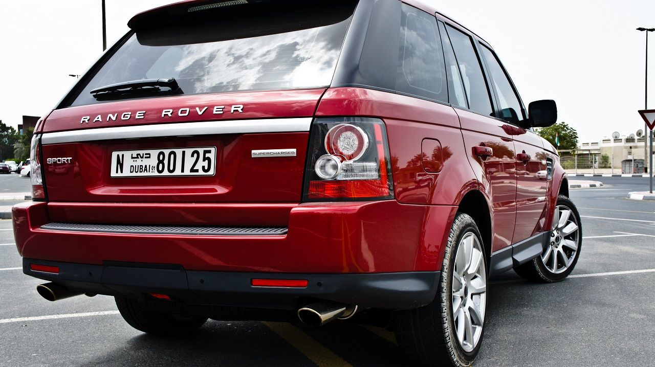 Red Range Rover Sport Supercharged Super luxury cars