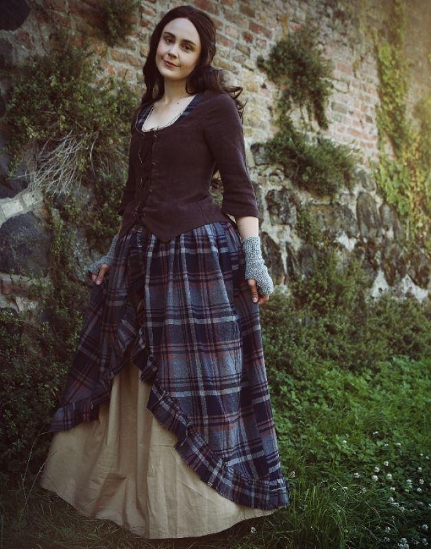 Schottische kleidung damen mittelalter