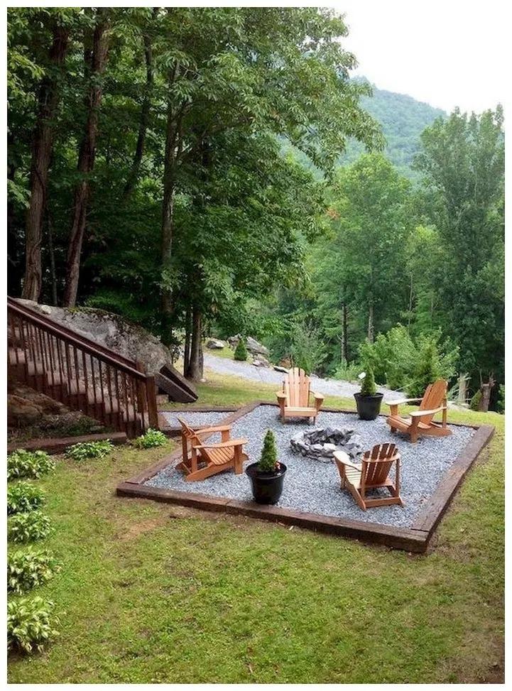 64 Awesome Brick Patterns Patio Ideas For Your Beautiful Yard Solnet Sy Com Fire Pit Backyard Backyard Backyard Fire