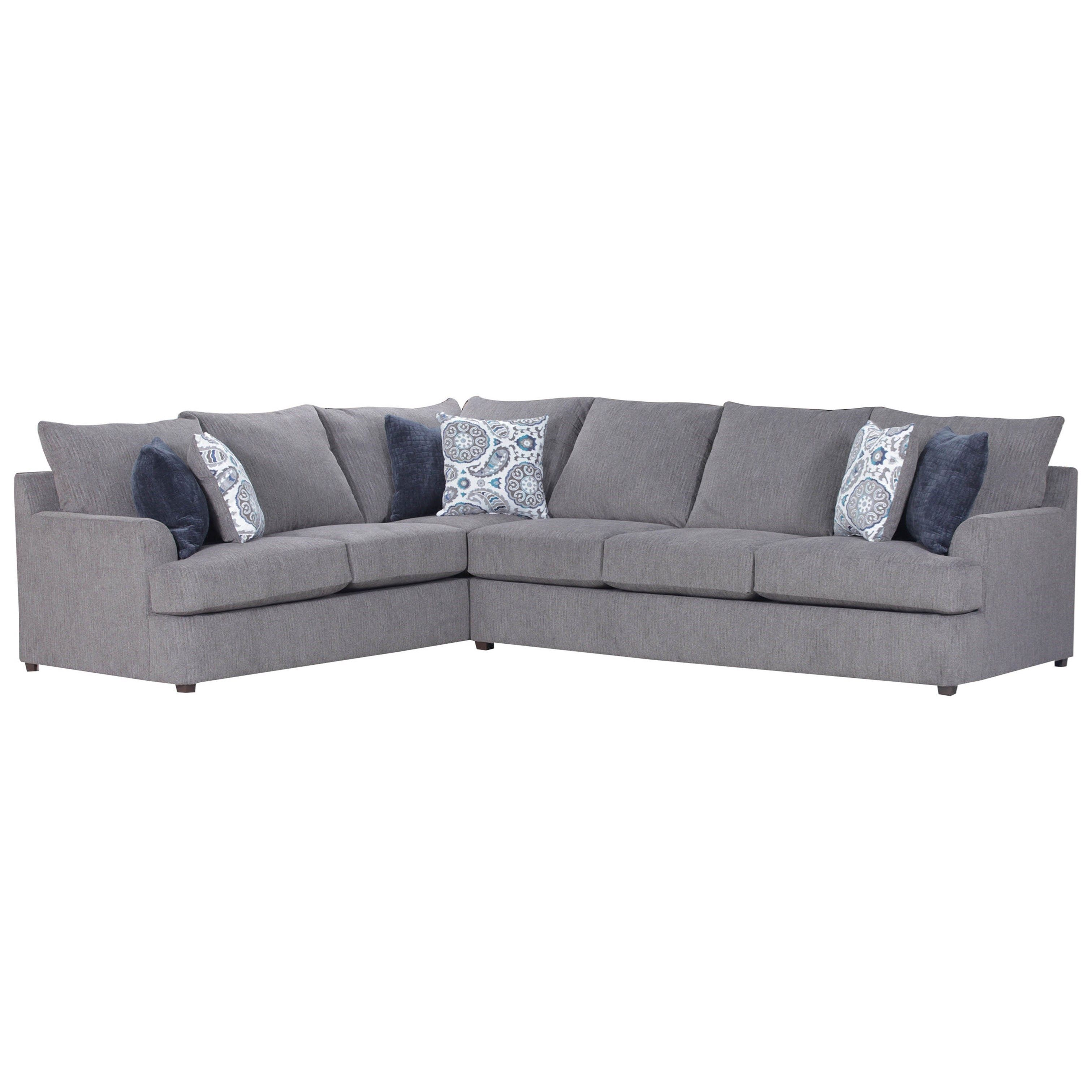 8540BR Casual Sectional Sofa by United Furniture Industries