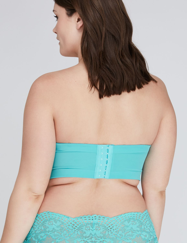 Turquoise Strapless Bra