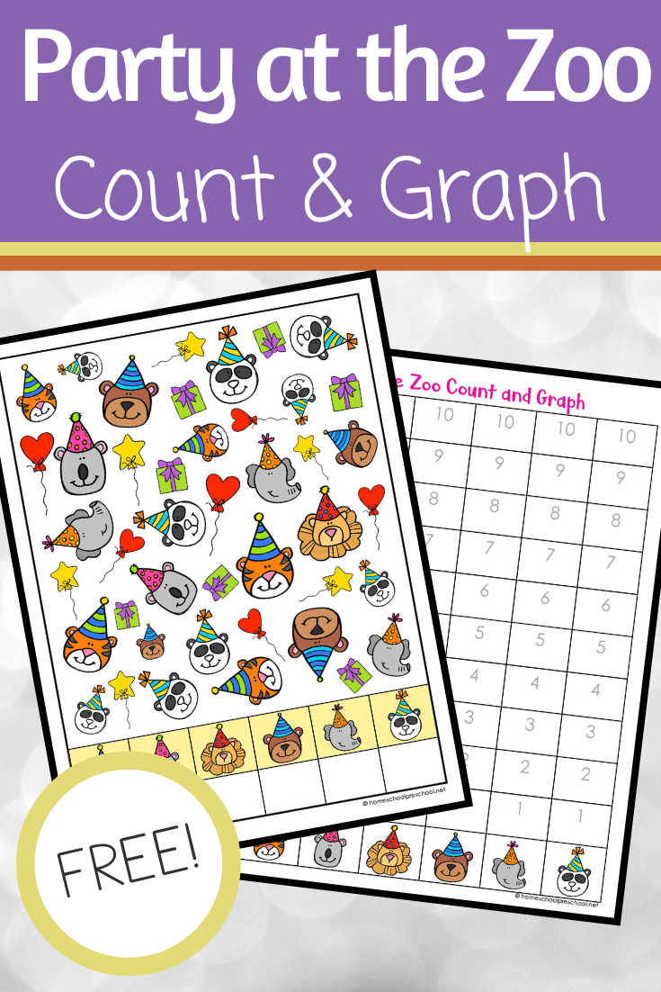 Zoo Animals Count And Graph Graphing Activities Counting Activities Kindergarten Zoo Animals [ 1102 x 735 Pixel ]