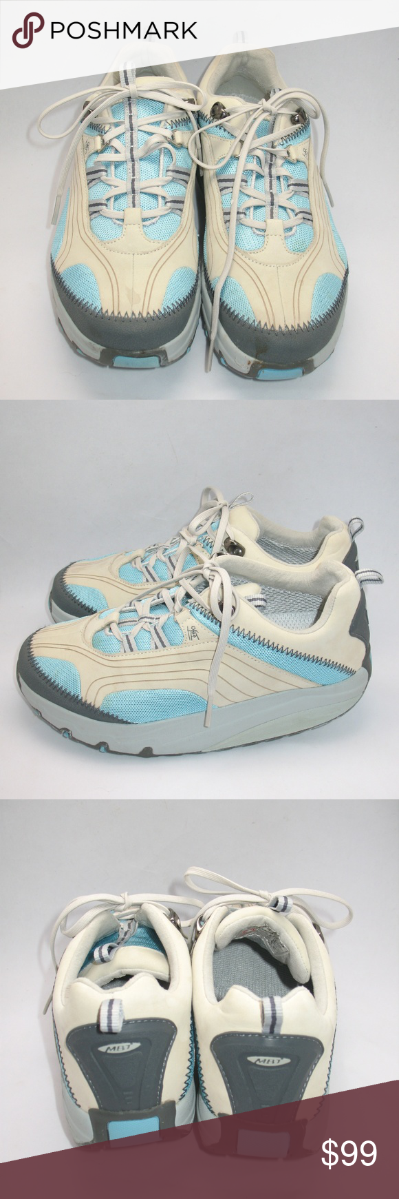 8861f187050c MBT CHAPA Azul Blue Physiological Sneakers  Very good condition. Small spot  on the front