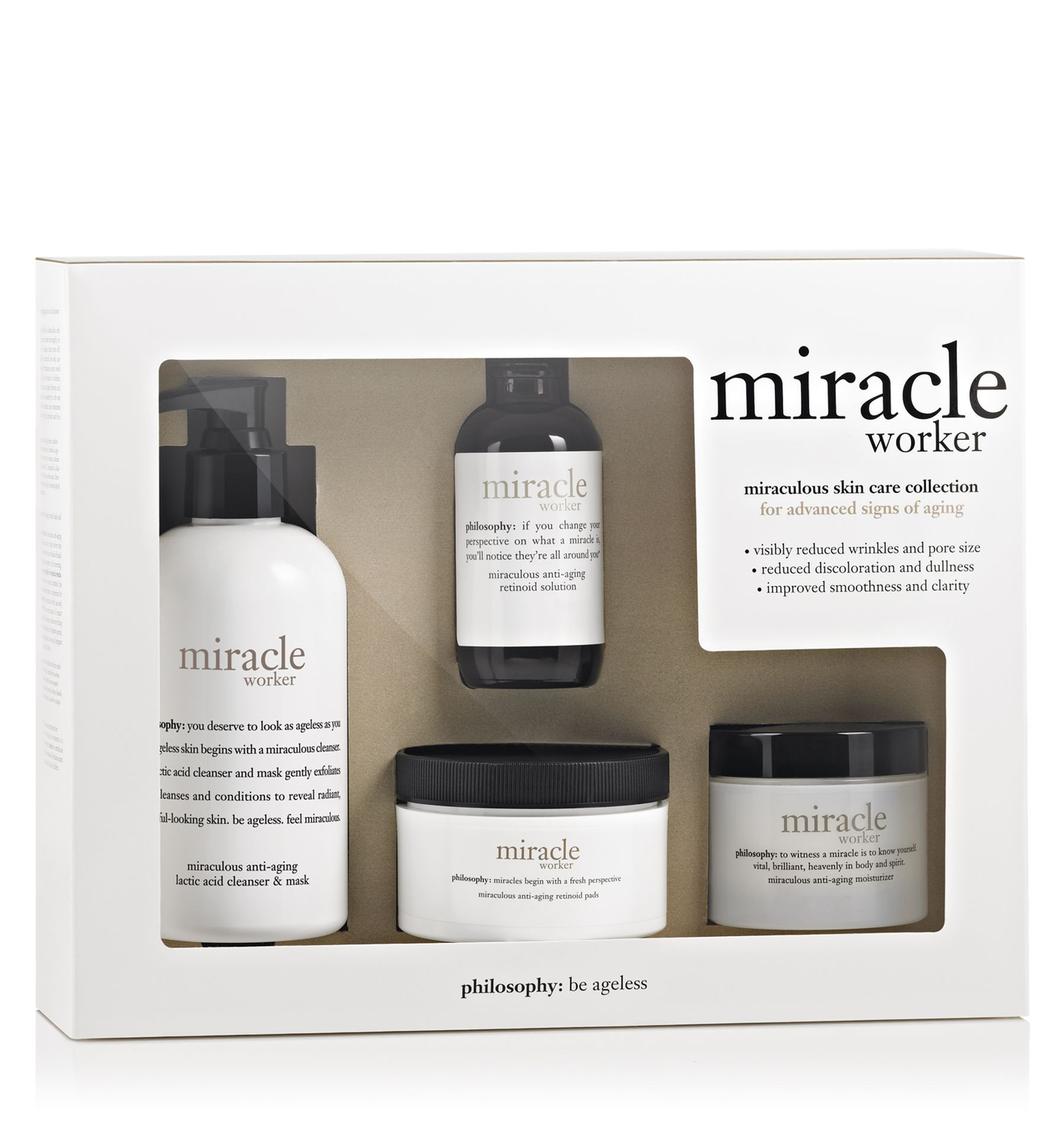 Miracle Worker Miraculous Skin Care Collection Just Natural Products Skin Care Collection Skin Care System