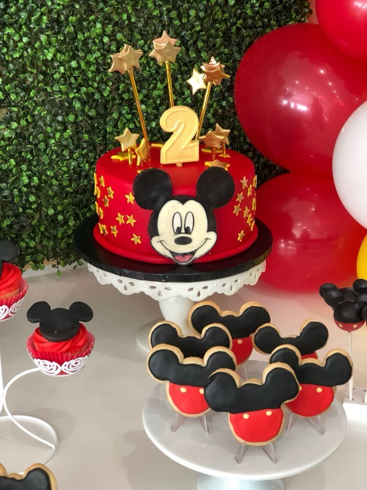 Mickey Mouse Birthday Cake Ideas Are Here In Los Angeles 1st For
