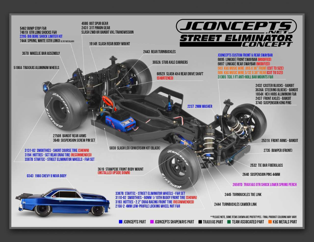 JConcepts 1991 Ford Mustang  Fox Clear Body JCO0362