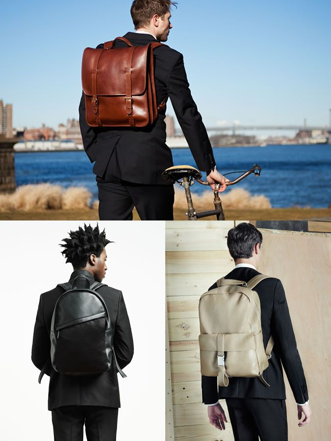2015 Autumn Winter Styling Tips To Try Now  Backpacks With Suits Lookbook  Inspiration 21e781c0d2