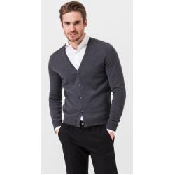 Photo of Marcello knit jacket in gray windsor