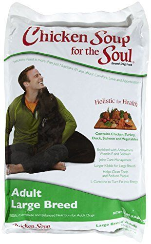 Chicken Soup for The Soul Puppy Large Breed Adult Dog Food Pet Formulated 15lbs