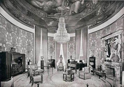 Plate 1- Grand Salon from Ensemble Mobiliers - Exposition ...