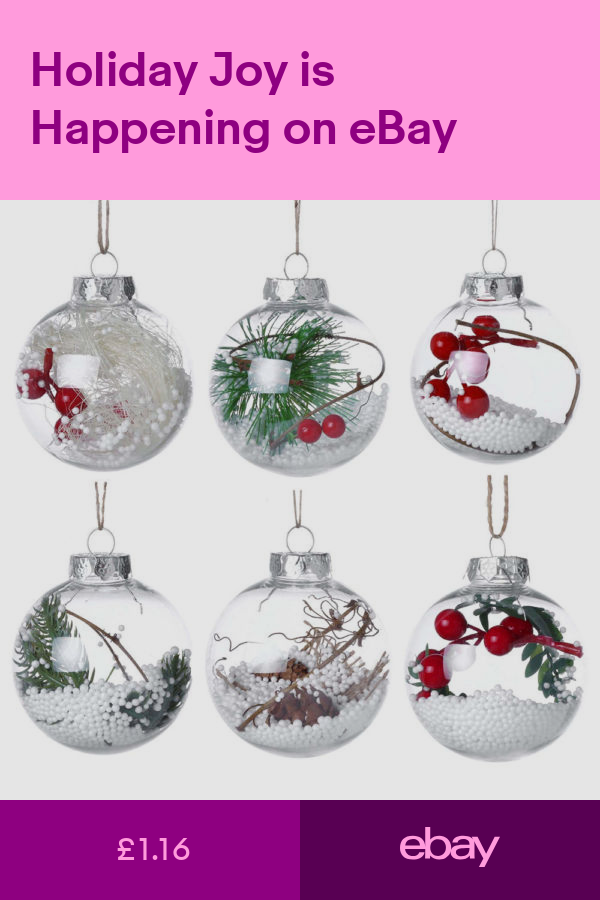 Christmas Tree Ornaments Home Furniture & DIY ebay