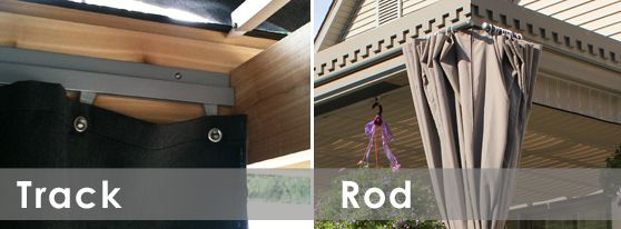 Customized Curtain Track Accessories For Rod System. 1000 Images About  Patio Cover Retractable On Pinterest