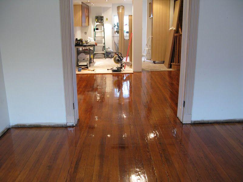 wood floor refinishing; installation