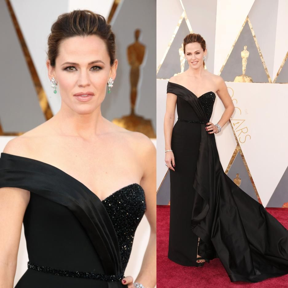 Black and Red Cocktail Dresses Oscars