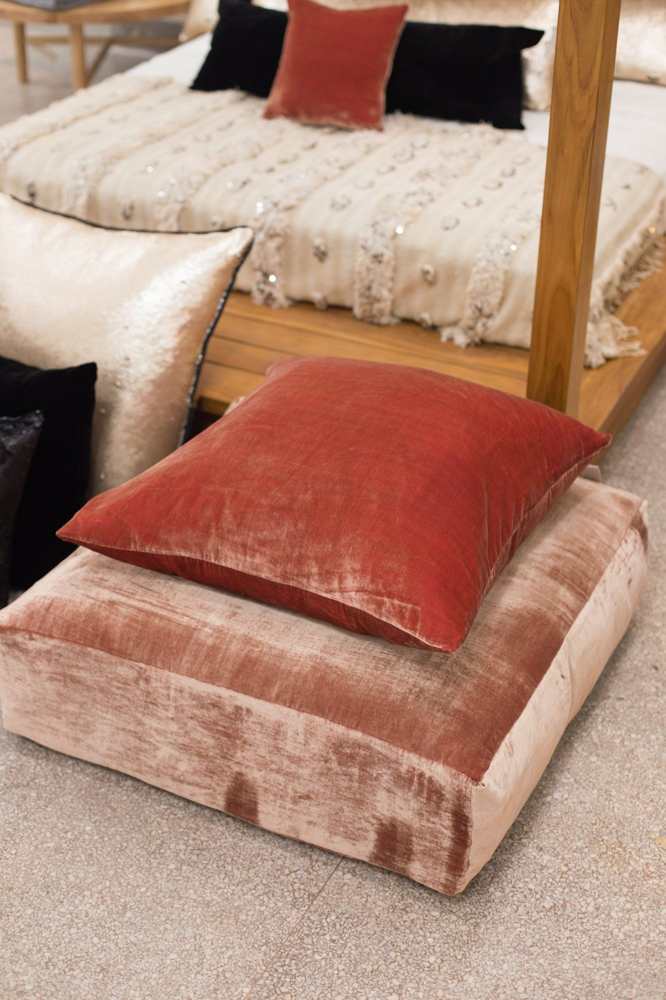 Velvet Floor Pillow - Flooring Ideas and Inspiration