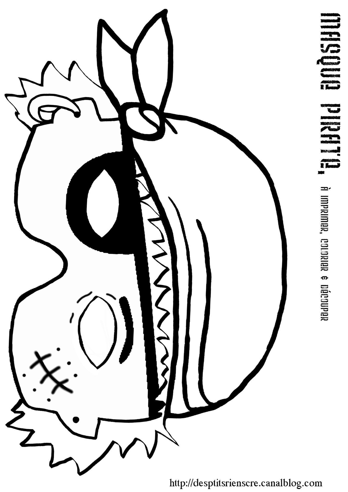 Pirate imprimer colorier oc an jack le pirate - Dessin de coffre de pirate ...