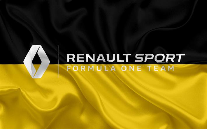 Télécharger Fonds D'écran Renault Sport, Équipe De Formule
