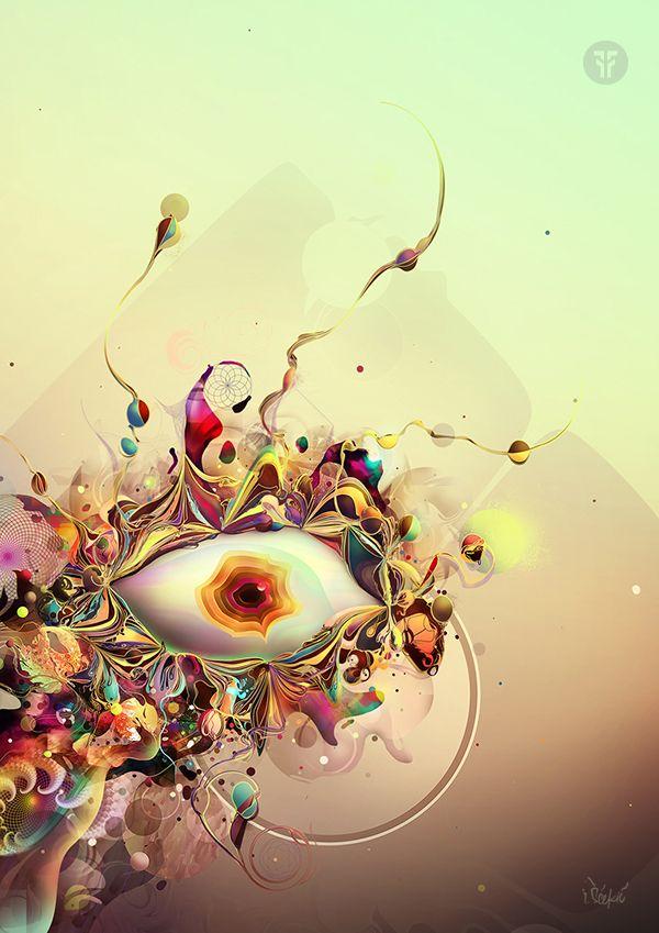 Tercer ojo por Igor Scekic, a través de Behance