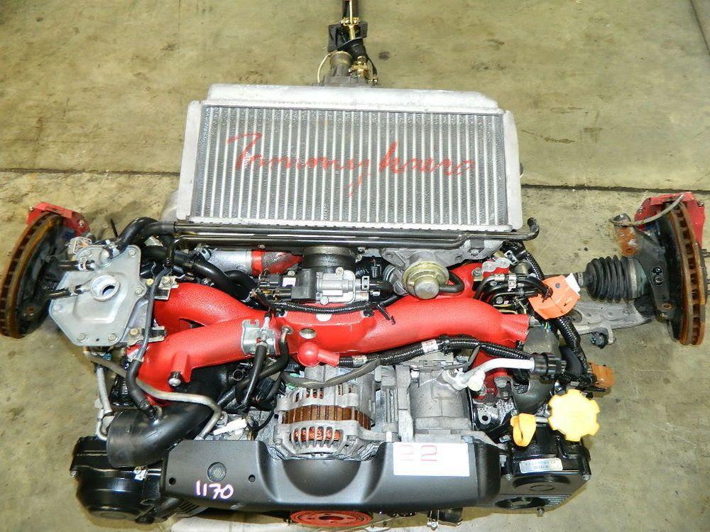 JDM SUBARU EJ207 STI 2 2L TOMMY KAIRA STROKER ENGINE W/ 6