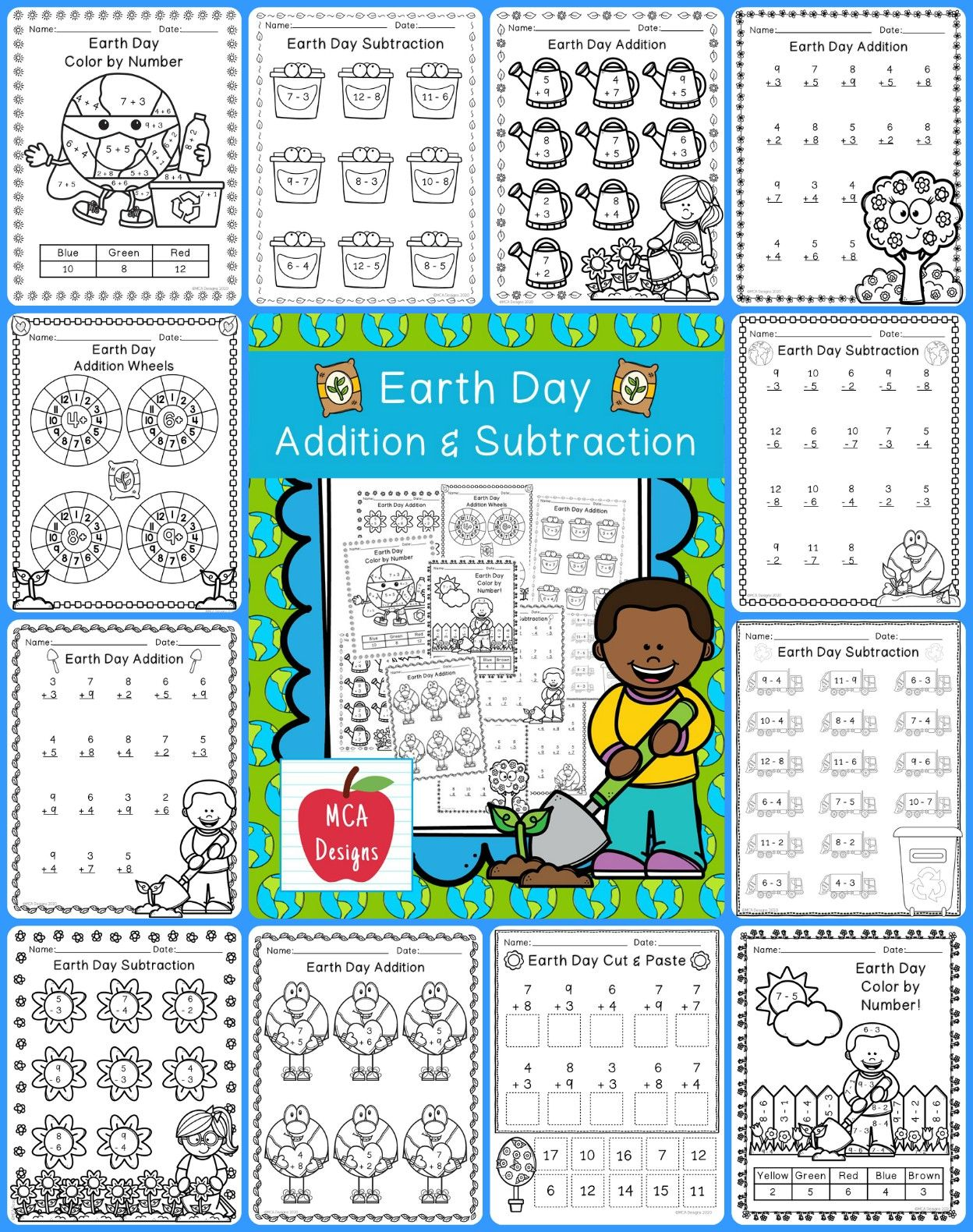 This Product Features Various Worksheets And Activities To