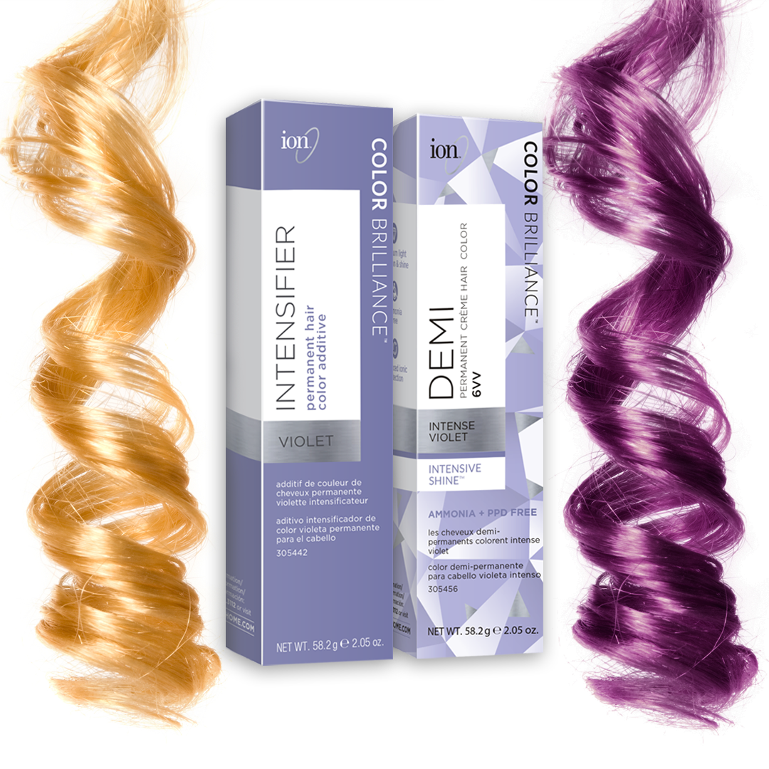 Ready to pump up your violet hair color our new intensifier is perfect for achieving the vibrant of dreams also rh pinterest
