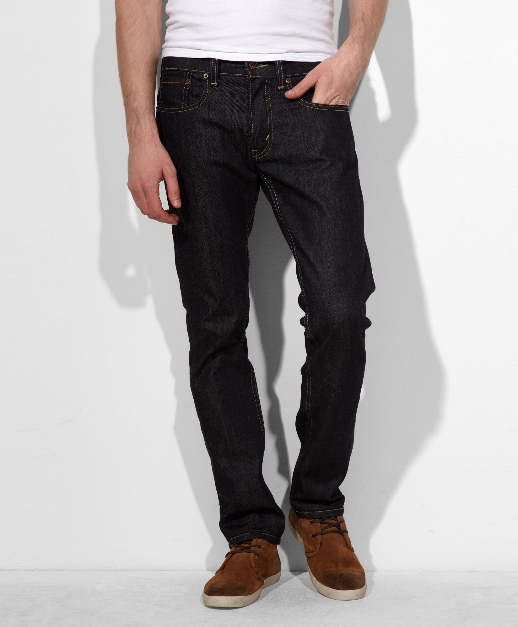 511™ Slim Fit Stretch Jeans - Dark Wash