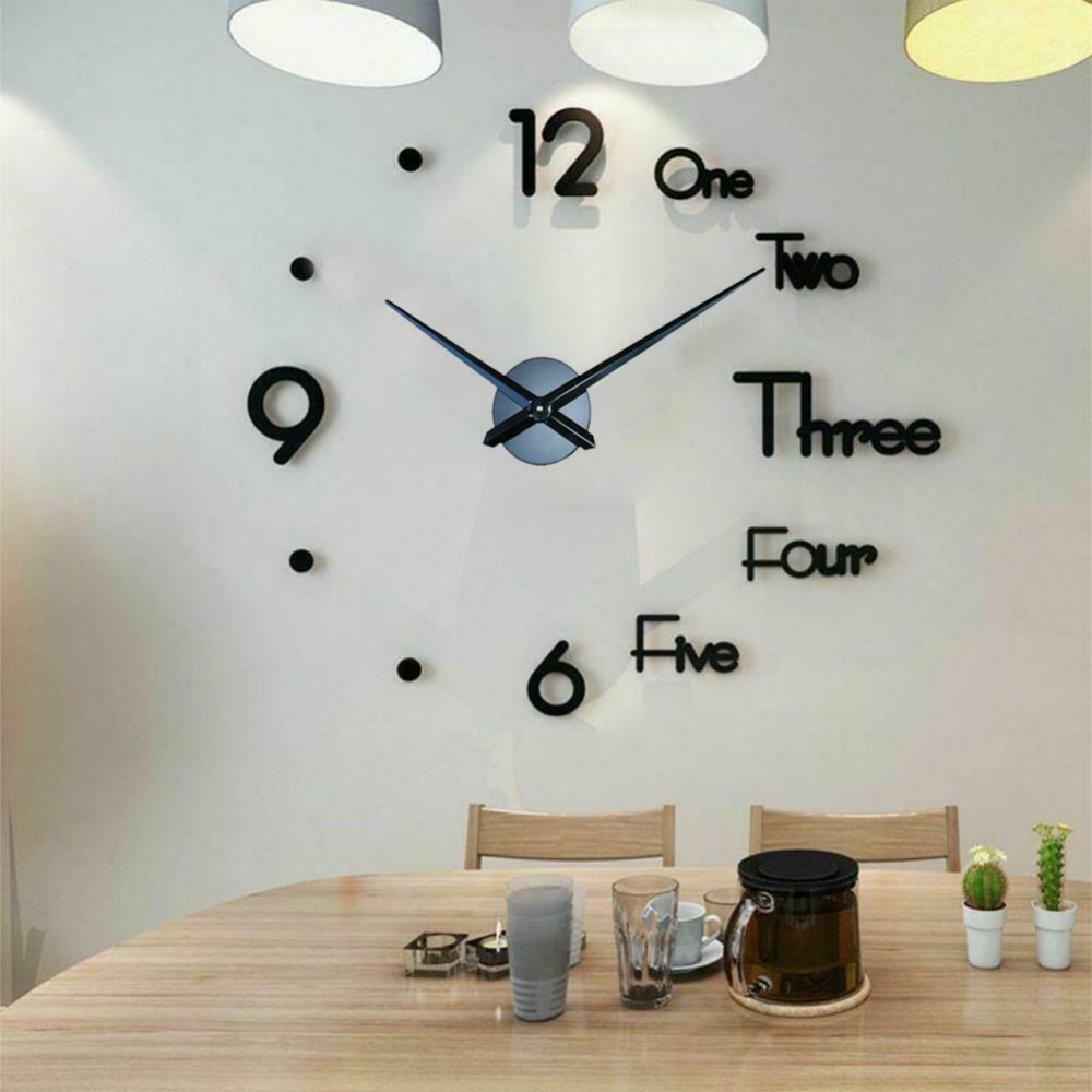 Contemporary And Large Modern Wall Clock Designs Live Enhanced In 2020 Large Wall Clock Modern Diy Clock Wall Wall Clock Modern