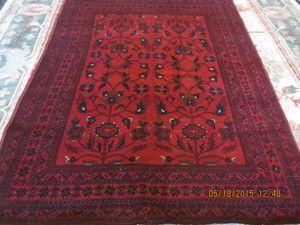 15 5 X 7 Afghan Tribal Rug