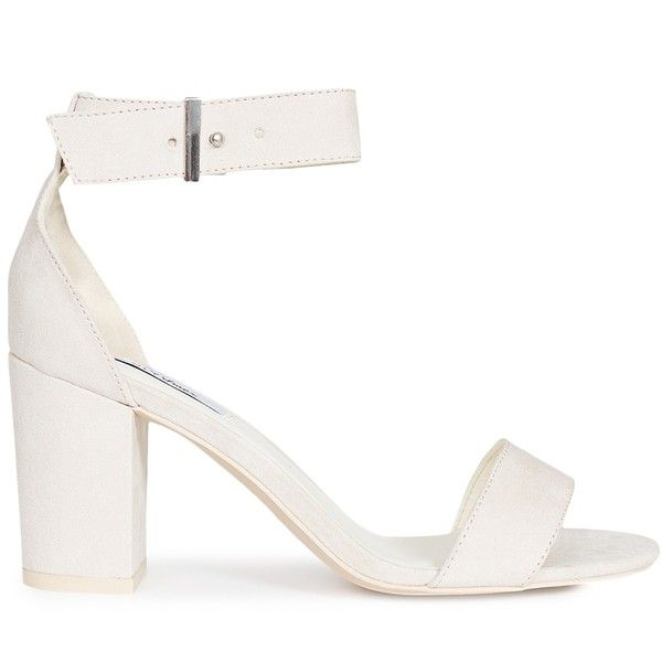 134ce3ec77 Nly Shoes Mid Block Heel Sandal (100 BAM) ❤ liked on Polyvore featuring  shoes