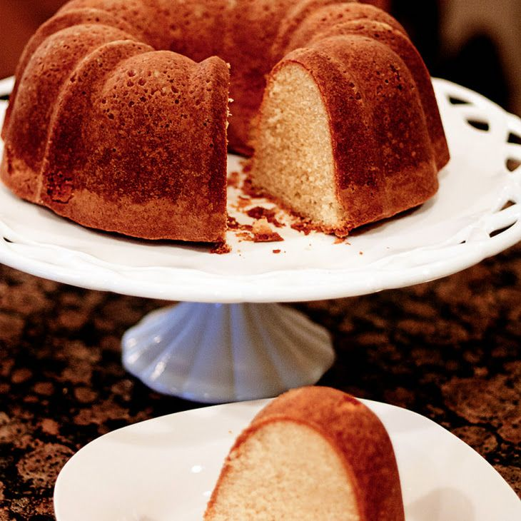 Buttermilk Pound Cake Recipe Yummly Recipe Buttermilk Pound Cake Pound Cake Recipes Cake Recipes
