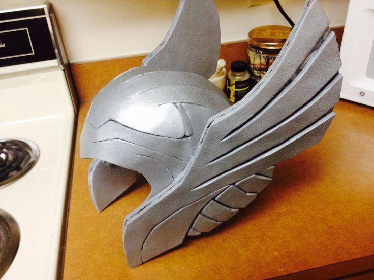 Image result for eva foam template viking helmet | Drawings for Finn ...